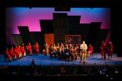 """""""Guys and Dolls"""" Newport High School, Mission Interior. Photo by Rick Edelman"""