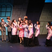"""Guys and Dolls"" Newport High School, New York. Photo by Rick Edelman"