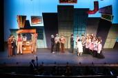 """Guys and Dolls"" Newport High School, Broadway. Photo by Rick Edelman"